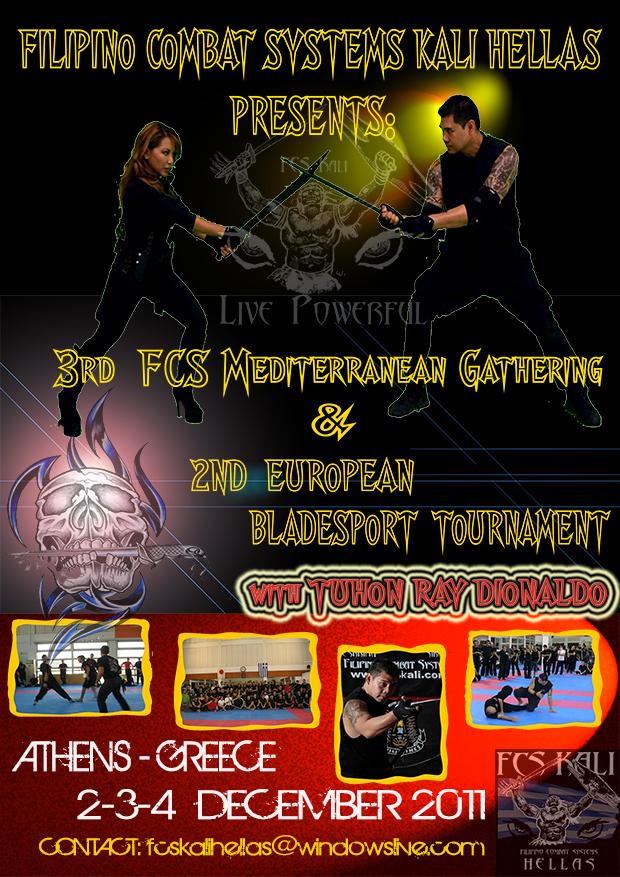 3rd FCS Mediterranean Gathering + 2nd Eyropean Bladesport
