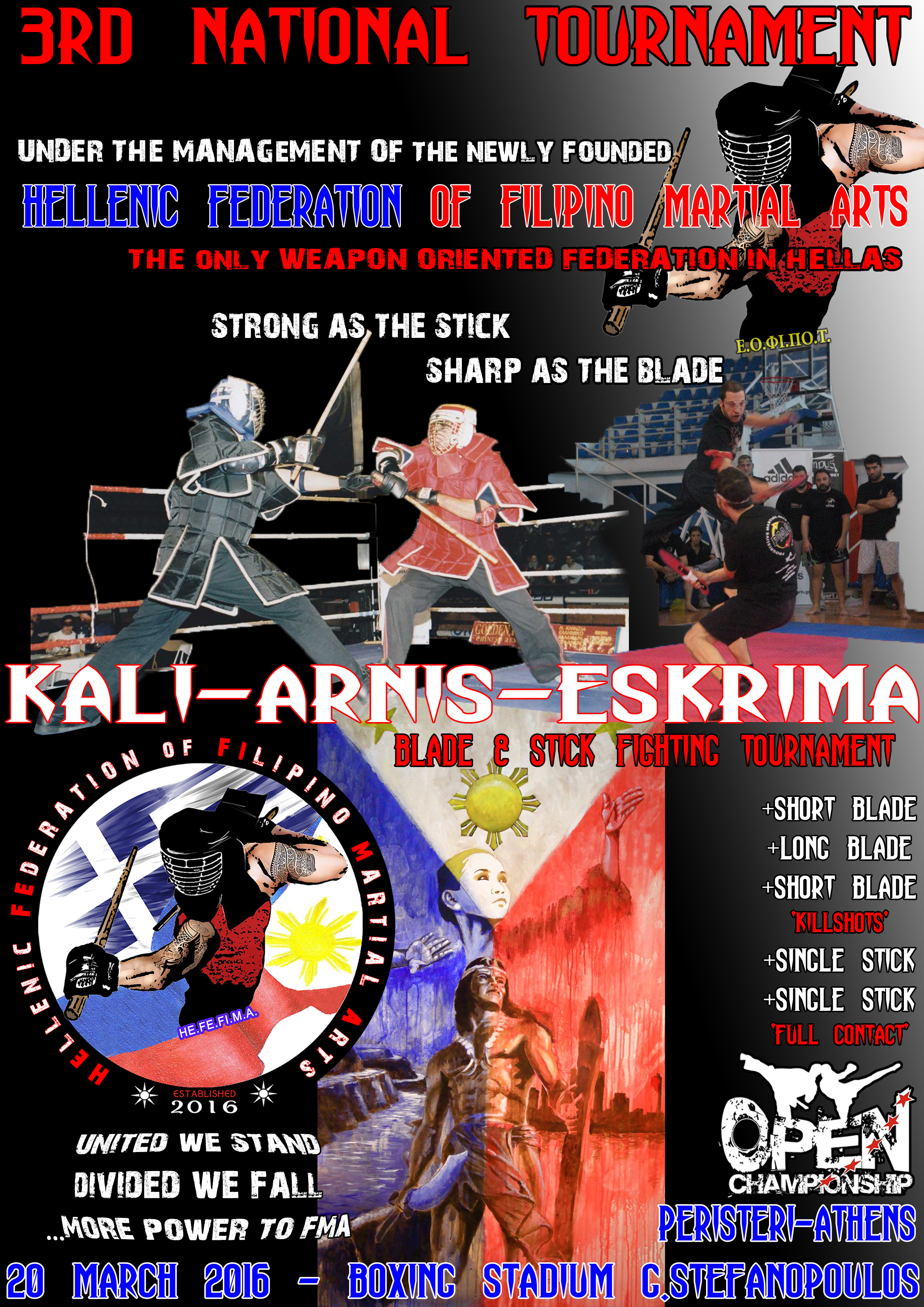3rd KALI-ARNIS-ESKRIMA NATIONAL TOURNAMENT